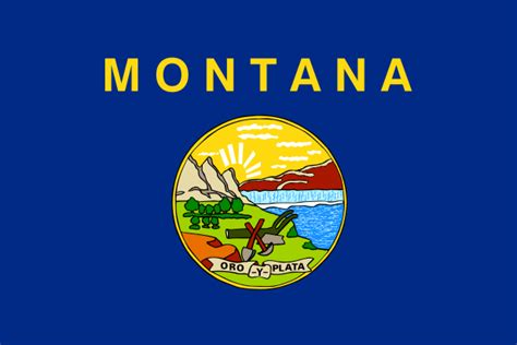 montana state information symbols capital constitution