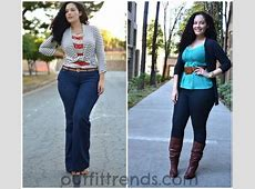 Casual outfits for Plus size women14 Funky Curvy Women Style