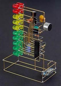 Rgb Led 6 Bit Glow Digital Clock Nixie Tube Clock Kit Diy