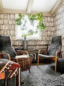 Tapeten Muster Wände : 85 moderne tapeten die zu einer zeitgen ssischen ausstattung geh ren ~ Markanthonyermac.com Haus und Dekorationen