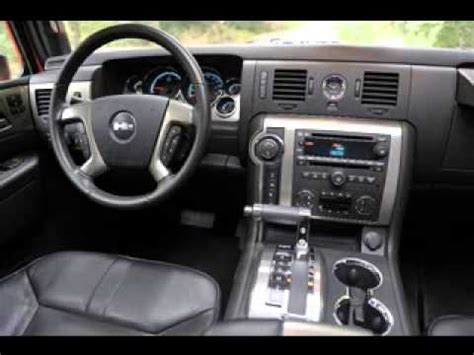 hummer  interior youtube