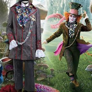 2017 Fashion Style Alice in Wonderland 2 Mad Hatter ...