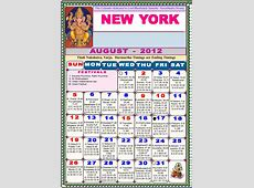 New York Telugu Calendar 2012Astrology Online horoscope