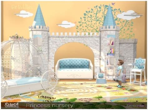 sims resource princess nursery  severinka sims