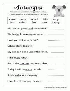 image result  english grade  worksheets  grade
