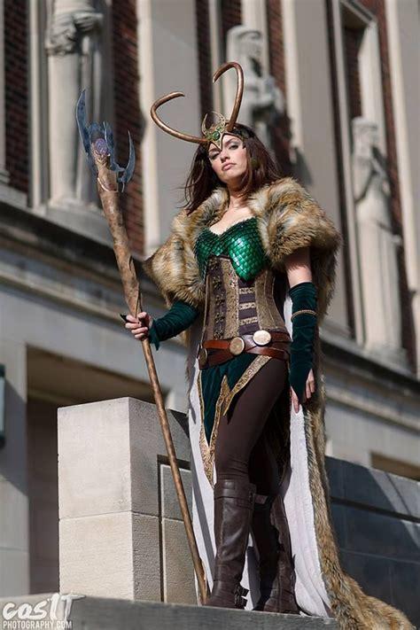 Self Lady Loki Cosplay Kyra Wulfgar As Lady Loki Photo