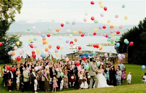 Fun Ways To Incorporate Balloons Into Your Wedding