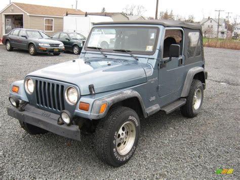 jeep gray color 1997 gunmetal pearl jeep wrangler sport 4x4 27851273