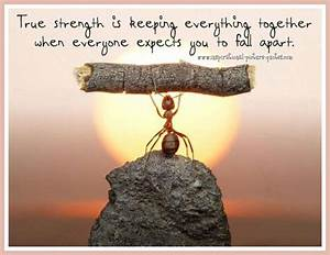 Uplifting Quotes About Strength  Quotesgram