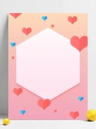 love heart shaped romantic background