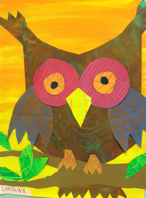 211 best images about owl art projects on pinterest owl