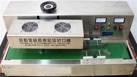 desktop induction sealing machines aluminum foil magnetic plastic bottles sealer machinery youtube