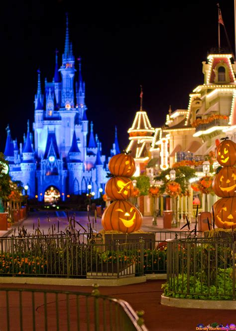 The Pumpkins Are Due On Main Street - Disney Photo of the ...
