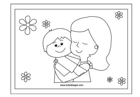 album da colorare per bambini festa della mamma lavoretti album da colorare