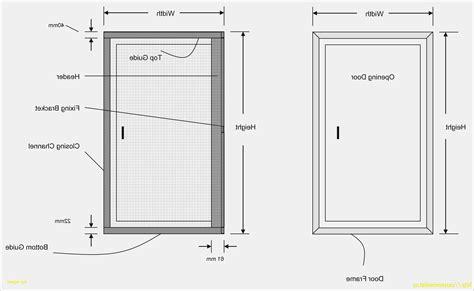 dimension porte chambre dimension porte de garage sectionnelle meilleur de