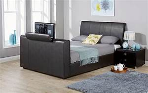 gfw brooklyn faux leather tv bed king size faux leather With brooklyn bed company