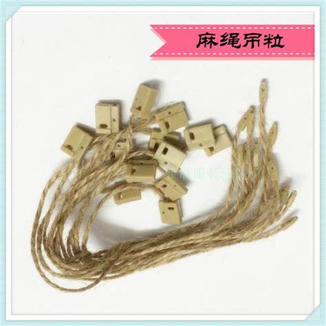 pabrik pricepcs string pakaian hang tag segel plastik