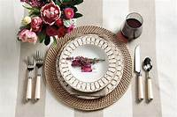 place setting ideas Place setting inspiration - How To Decorate
