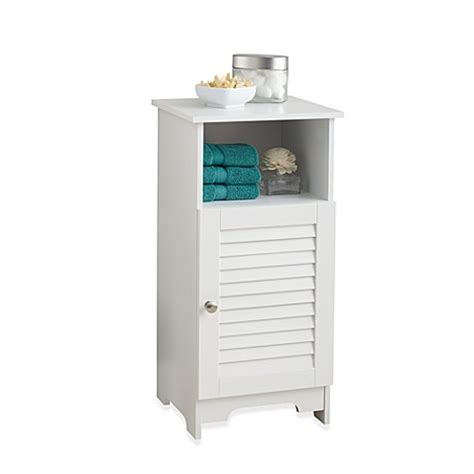 Bathroom Cabinets Bed Bath And Beyond by Louvre Floor Bath Cabinet Bed Bath Beyond