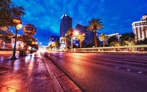 city las vegas  night hd wallpaper