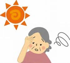 熱中症 イラスト に対する画像結果