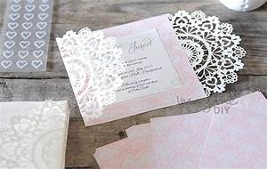 how to make arabesque laser cut invitation imagine diy With laser cut wedding invitations diy uk