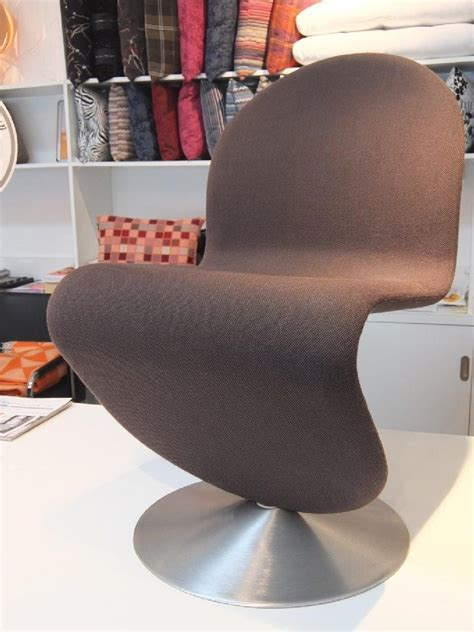 chaises panton chaise panton tissu steel cut trio anthracite