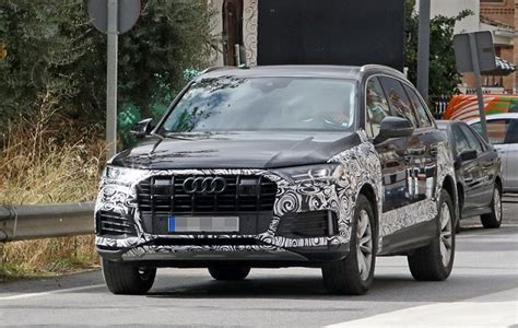 Audi Q7 2020 Update by 2020 Audi Q7 Updated Suv Spotted Testing Truck News