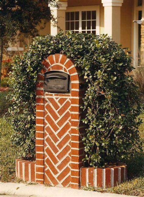custom mailbox  custom work brick mailboxes stucco