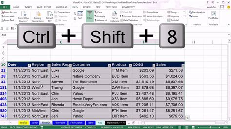 Office Basics by Office 2013 Class 41 Excel Basics 23 Sort And Filter