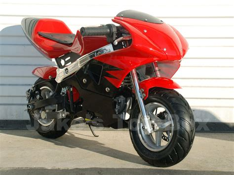 Gas Powered Kids Mini Motorcycle 40cc Pocket Bike