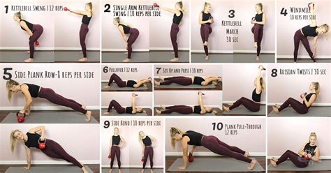 kettlebell exercises abs fitness strong fb paleoplan plan