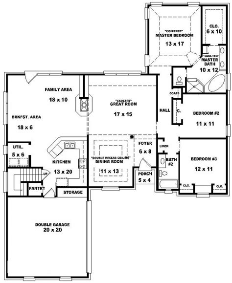house plans with and bathrooms bedroom bath house plan plans floor bathroom with 2 open
