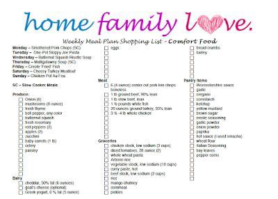 comfort food list homefamilylove healthy recipes inspiration smart
