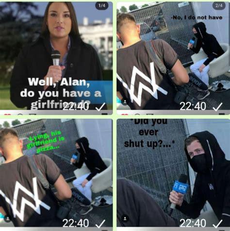 alan walker meme