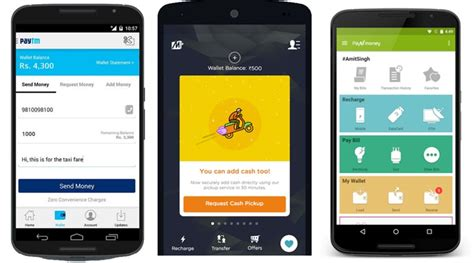 Mobile App Payments Paytm To Mobikwik, The Digital Wallet