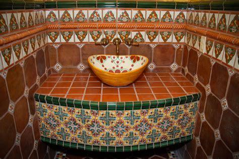 mexican tile bathroom ideas mexican tile bathroom austin by clay imports