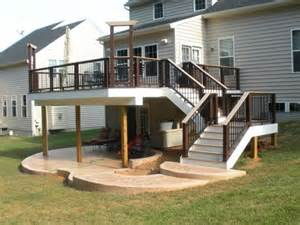 a patio under the deck genius would prefer to have a