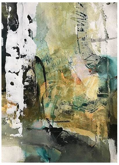 Abstract Riding Landscape Joan Painting Contemporary Fullerton