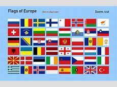 Interactive map of Europe Flags of Europe Toporopa