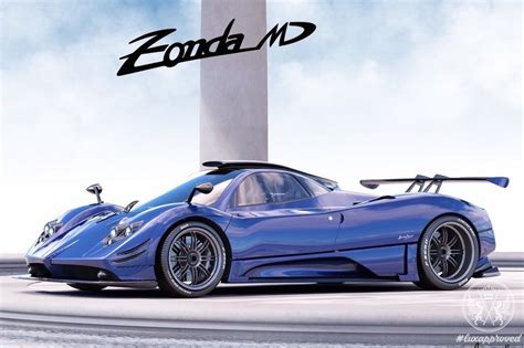 One-off Pagani Zonda Md