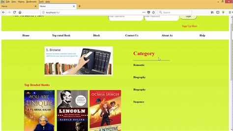 library management system  phpmysqlhtml  hindi