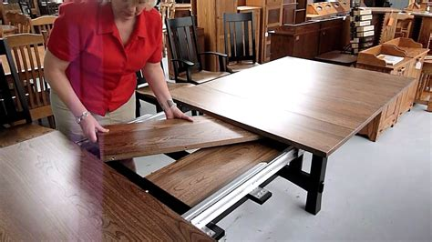 dining room tables  leaves built   trend home