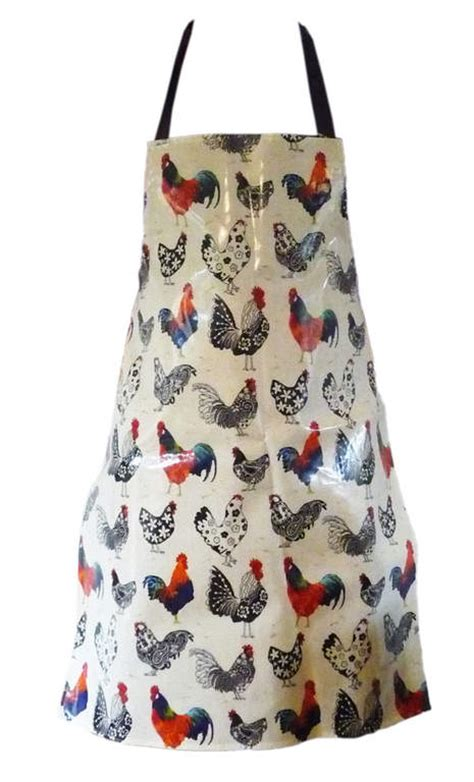 Kitchen Aprons Ireland by Apron Pvc Rooster Aprons Kitchen And Dining Omlet