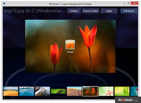 Windows 7 Logon Background Changer 134  System Themes