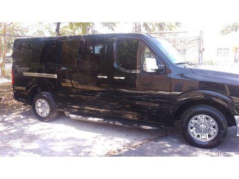 Used Nissan Nv For Sale by Used 2013 Nissan Nv Limo Blackstone Designs 23 000
