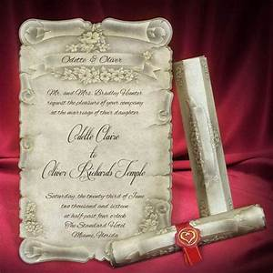 30 creative wedding invitation cards you need to see for With free printable scroll wedding invitations