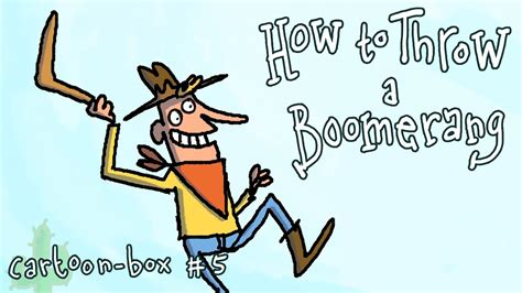 How To Throw A Boomerang With Cowboy Benny
