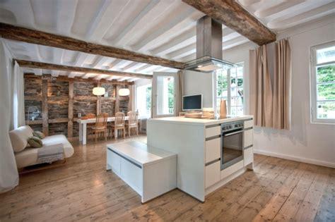 moderner landhausstil wohnzimmer fachwerk rustikal und doch modern trendomat