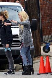 Abigail Breslin - On the Set of 'Scream Queens' in New ...